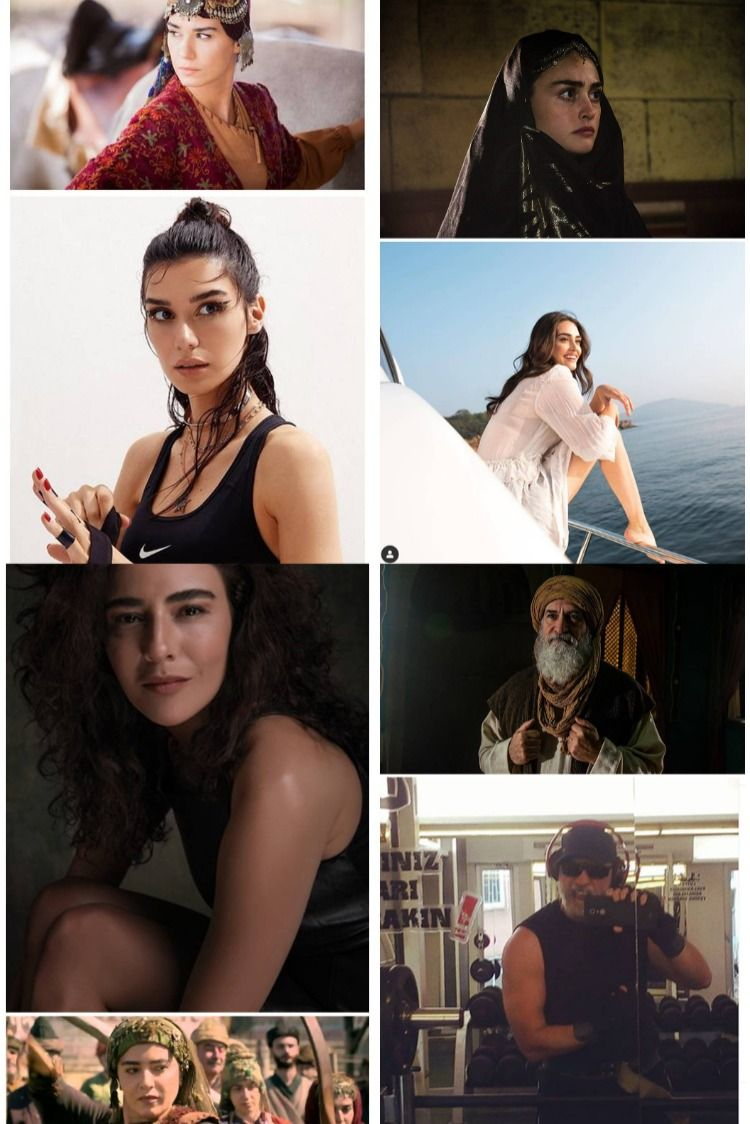 Ertugrul Cast Season 1 To 5 Turkish Actors It Cast Cute Actors