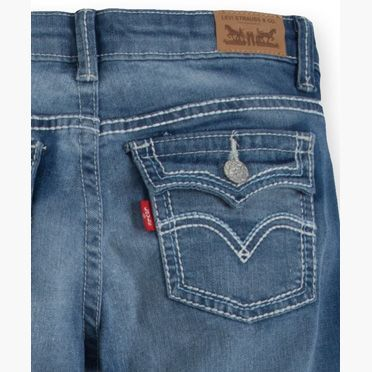 c0d3870ef Girls 7-16 715 Taylor Thick Stitch Bootcut Jeans (Plus)   Products ...