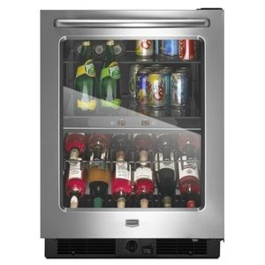 Maytag Mmbcm24fwbs Beverage Center Wine Cooler Beverage Center Stainless Steel Beverage Center Beverage Centers Beverage Refrigerator