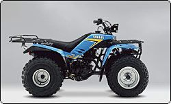 this is a 125 cc yamaha moto 4 one of the older yamaha fourwheelers rh pinterest com Yamaha Moto 4 Badger 1987 Yamaha YFM225 Moto 4
