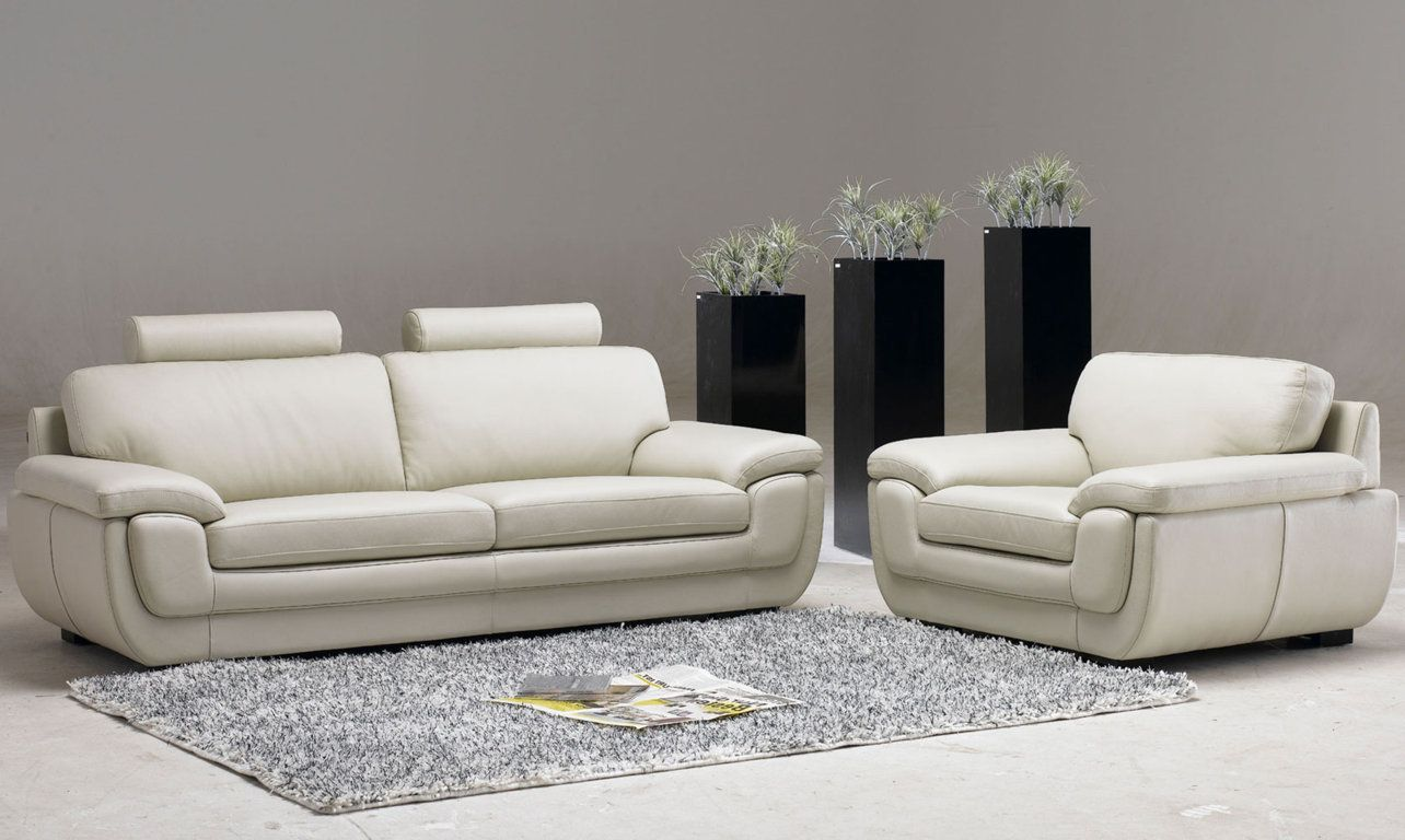 White Living Room Furniture Design Ideas With Grey Carpet And Sofa