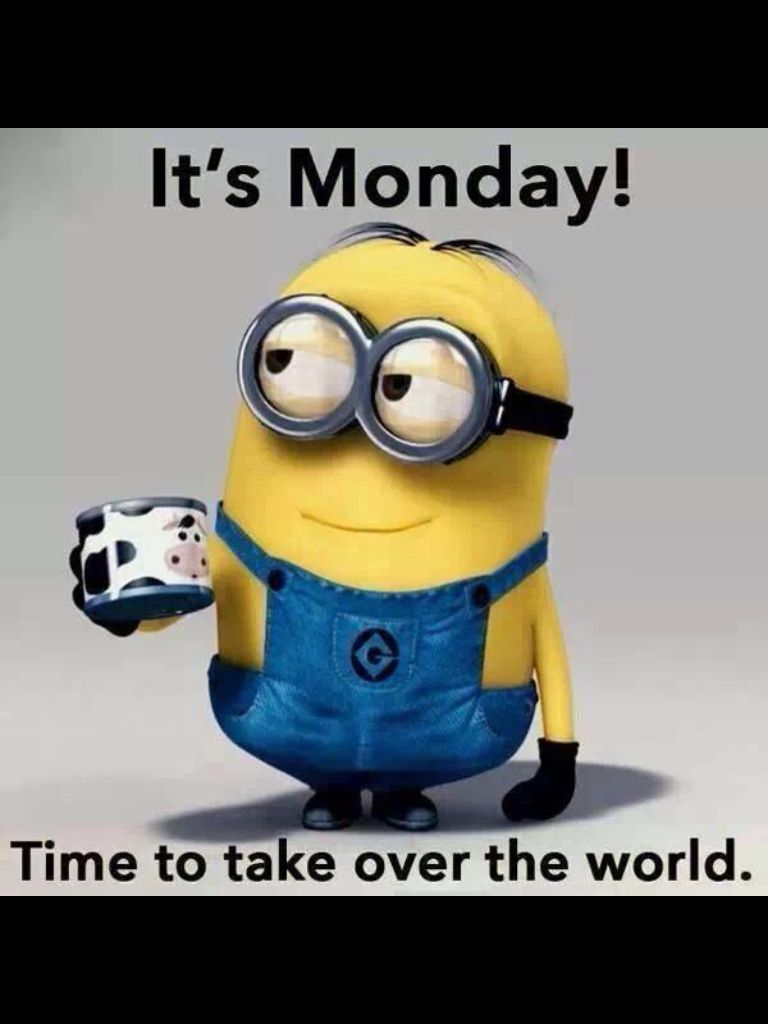 It S Monday Again Always A Super Busy Day For Me I Will Be Online Putting Through Juice Plus Orders This Morning Minions Minions Funny Minions Despicable Me