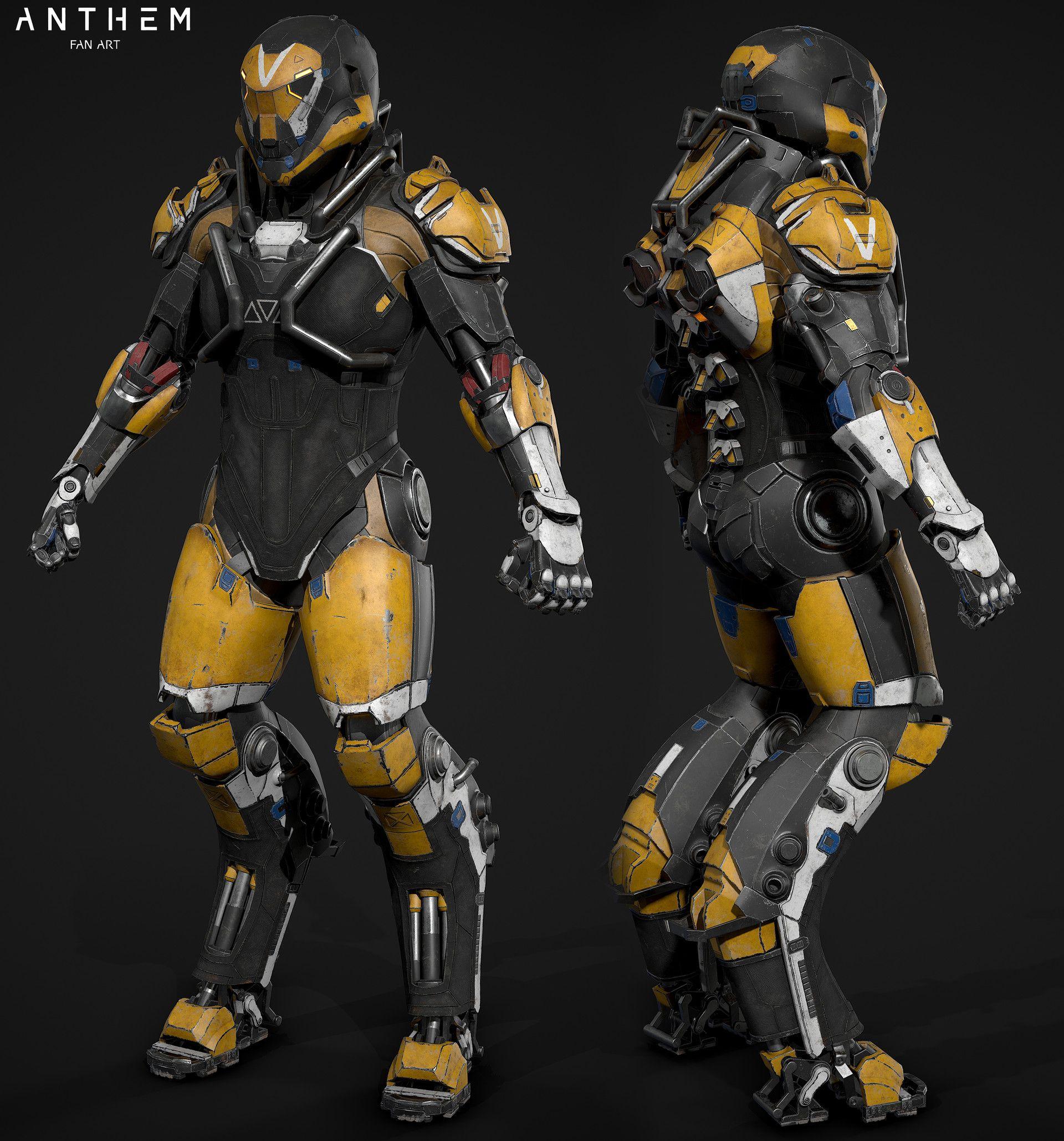 Artstation The Javelin Ranger Corbax Studio Ltd Armor