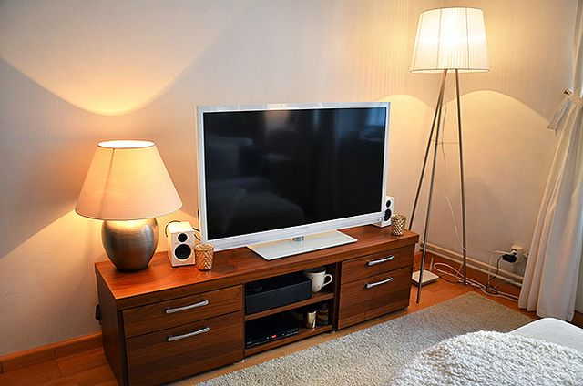 I didn't even know that white tv's existed.  home 13 by mariannann, via Flickr