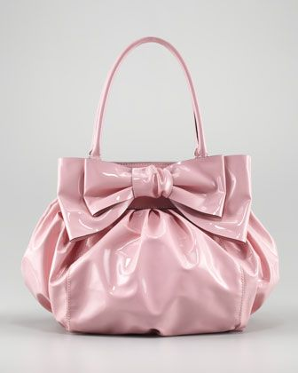 6b54a8ef9fb Double-Handle Lacca Bow Bag by Valentino at Neiman Marcus.- It's all about  the bows for me lately can't get enough of them!