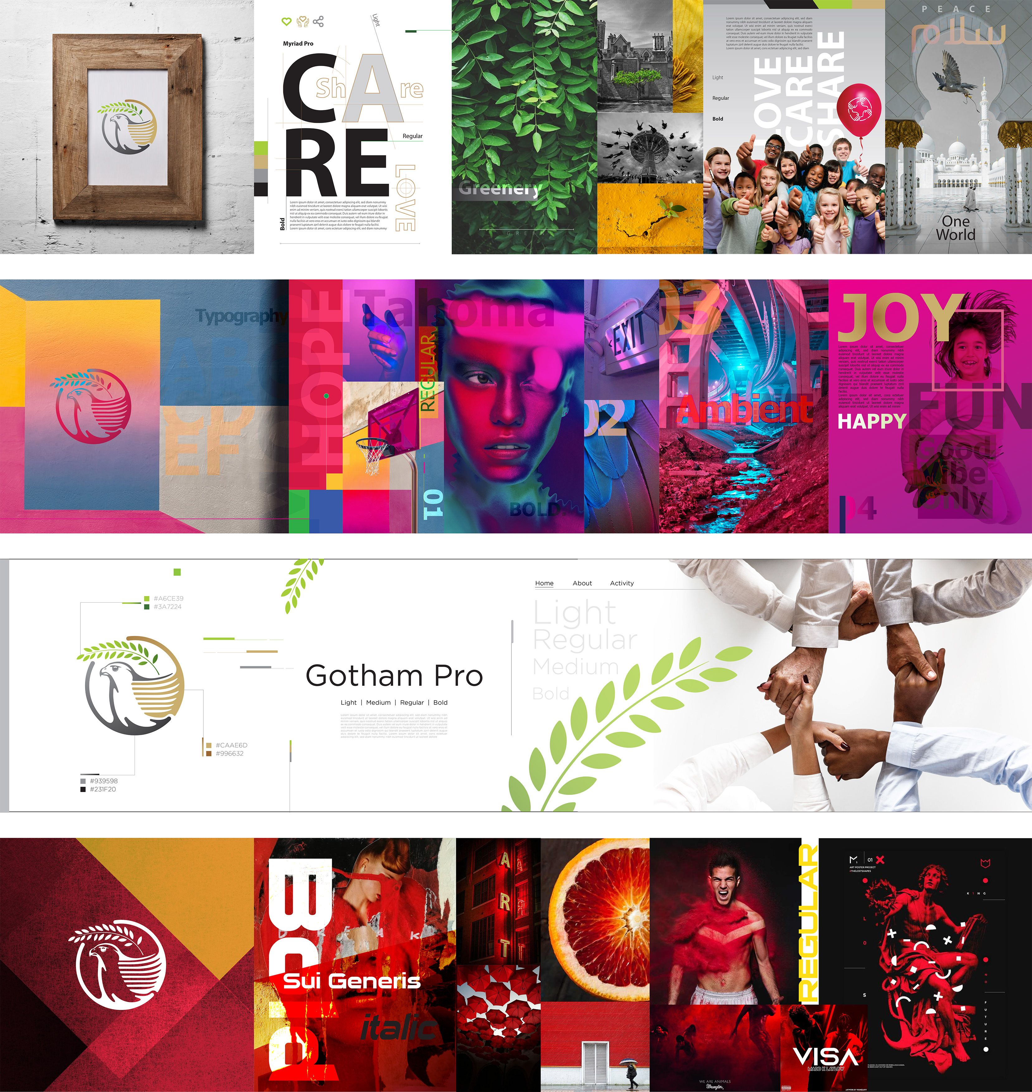 """Stylescape Graphic Design: Check Out This @Behance Project: """"Stylescapes"""" Https://www"""