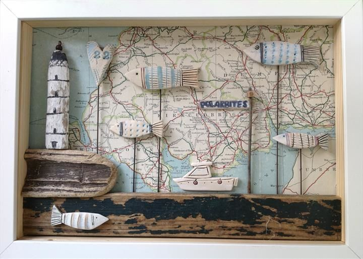 Shadow Box Frame - Shirley Vauvelle | CERAMIKA OBRAZY | Pinterest ...