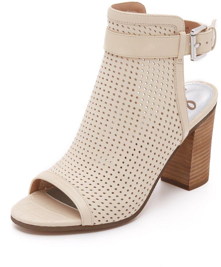 PEEP TOE SALTO GROSSO: ELEGÂNCIA E PODER! | Week Shoes Blog