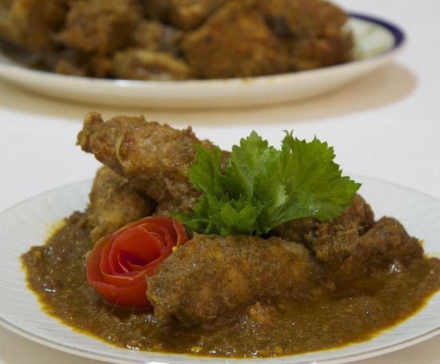 Indonesian Medan Food Ayam Pinadar Batak Style Chicken Food Indonesian Cuisine Curry Chicken Recipes