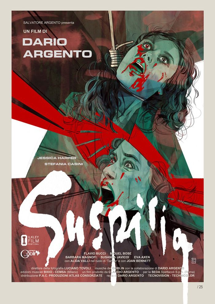 Suspiria By Tula Lotay  Home Of The Alternative Movie Poster Amp