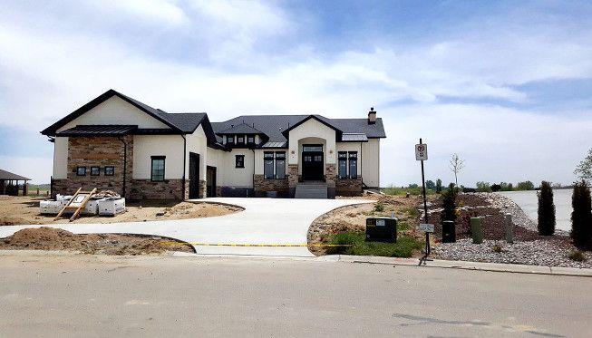 Best Modern Rustic White Farmhouse Black Doors Black Trim 640 x 480