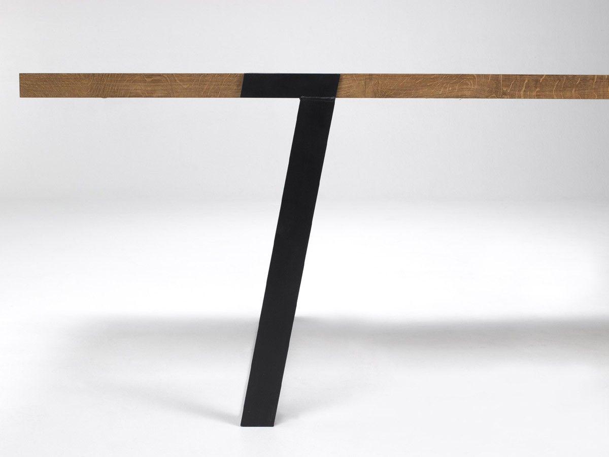 Design Esstisch design esstisch gigant wildeiche stahl günstig bestellen