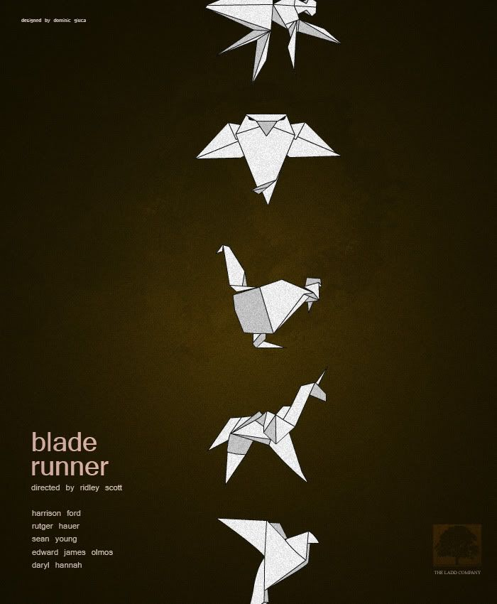 Blade Runner Is Probably My Favorite Sci Fi Film But There Arent Many Image That Represent It The Owl And Unicorn Have Been From All
