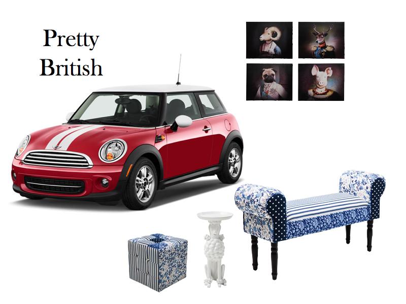 Mini Wohnzimmer ~ Inredning #mini #british www.wohnzimmer.se fun and inspiring