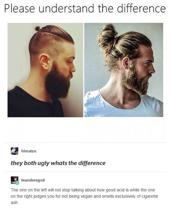 Uh The One On The Left Has A Warriors Tail The One On The Right Has A Man Bun Come On Guys Did Sokka Not Teach You Anything Funny Memes Funny