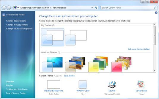 How To Create A Desktop Wallpaper Slideshow In Windows 7 Dummies