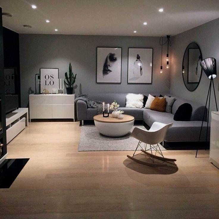 Photo of 20+ Apartment Gray living room ideas