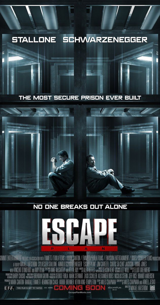 Escape Plan 2013 R 1h 55min Action Crime Mystery 18 October 2013 Usa Escape Plan Poster Trailer 2 3 Plan Movie Escape Plan Full Movies Online Free
