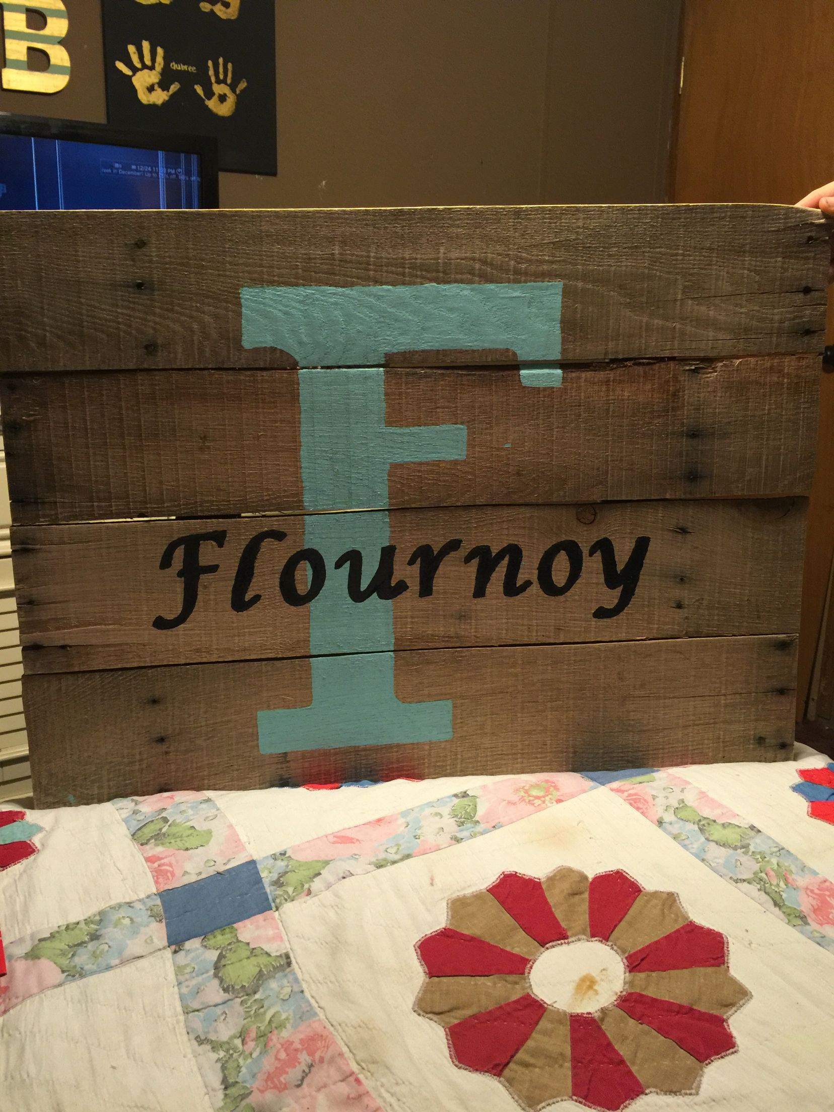 F is for Flournoy