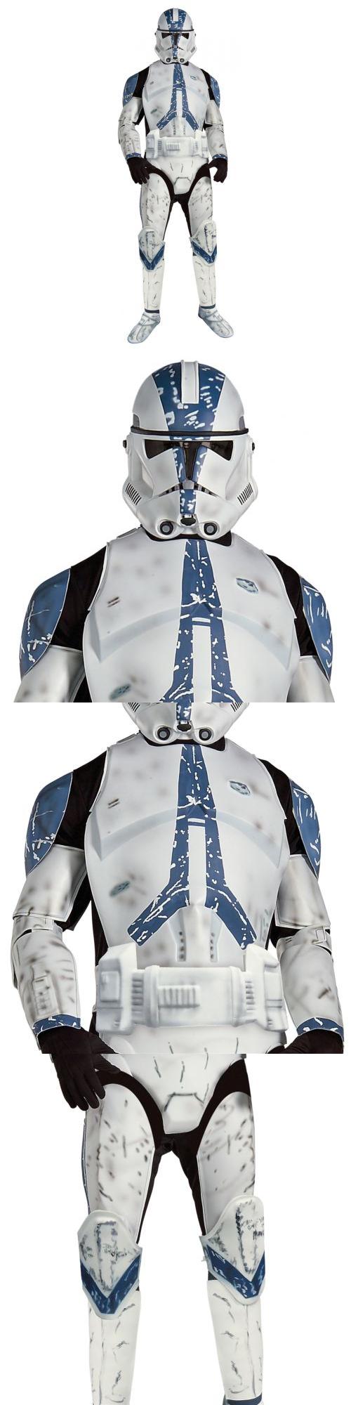 Men 52762 Deluxe Clone Trooper Star Wars Adult Men Imperial Stormtrooper Halloween Costume -u003e  sc 1 st  Pinterest & Men 52762: Deluxe Clone Trooper Star Wars Adult Men Imperial ...