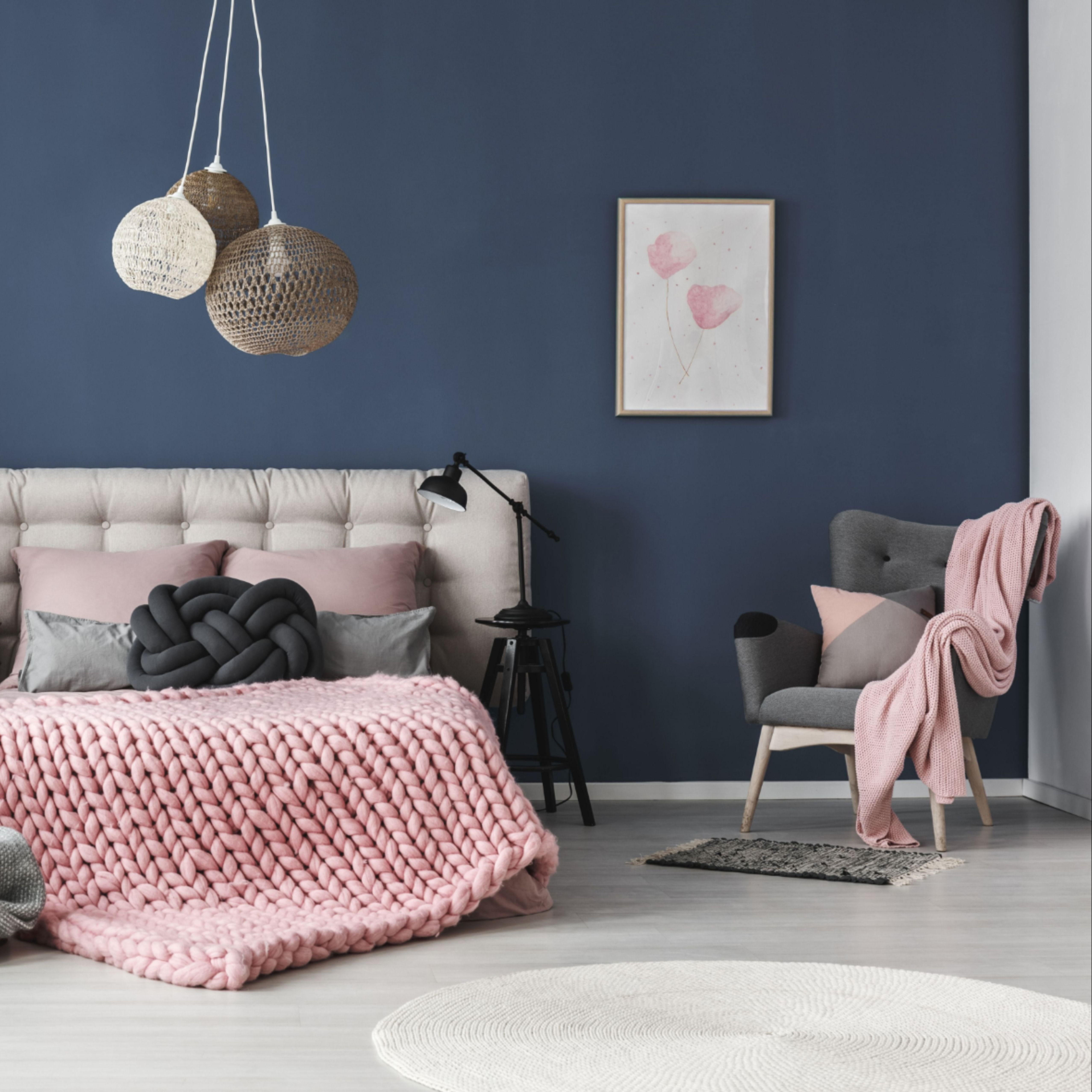 Classic Blue Fur Zuhause Alpina Farbrezepte Blaue Stunde Wandfarbe Wohnzimmer Wandfarbe Wandfarbe Schlafzimmer