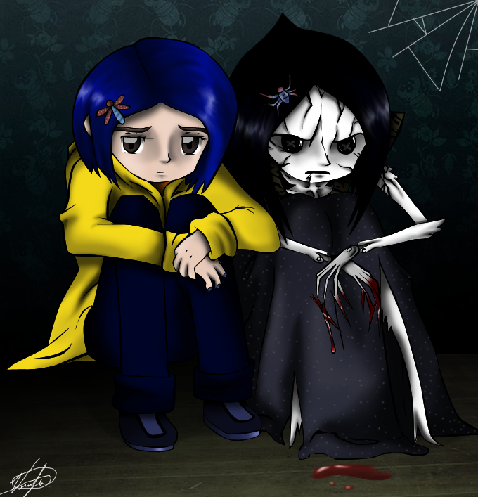 Coraline And The Other Coraline Fan Art