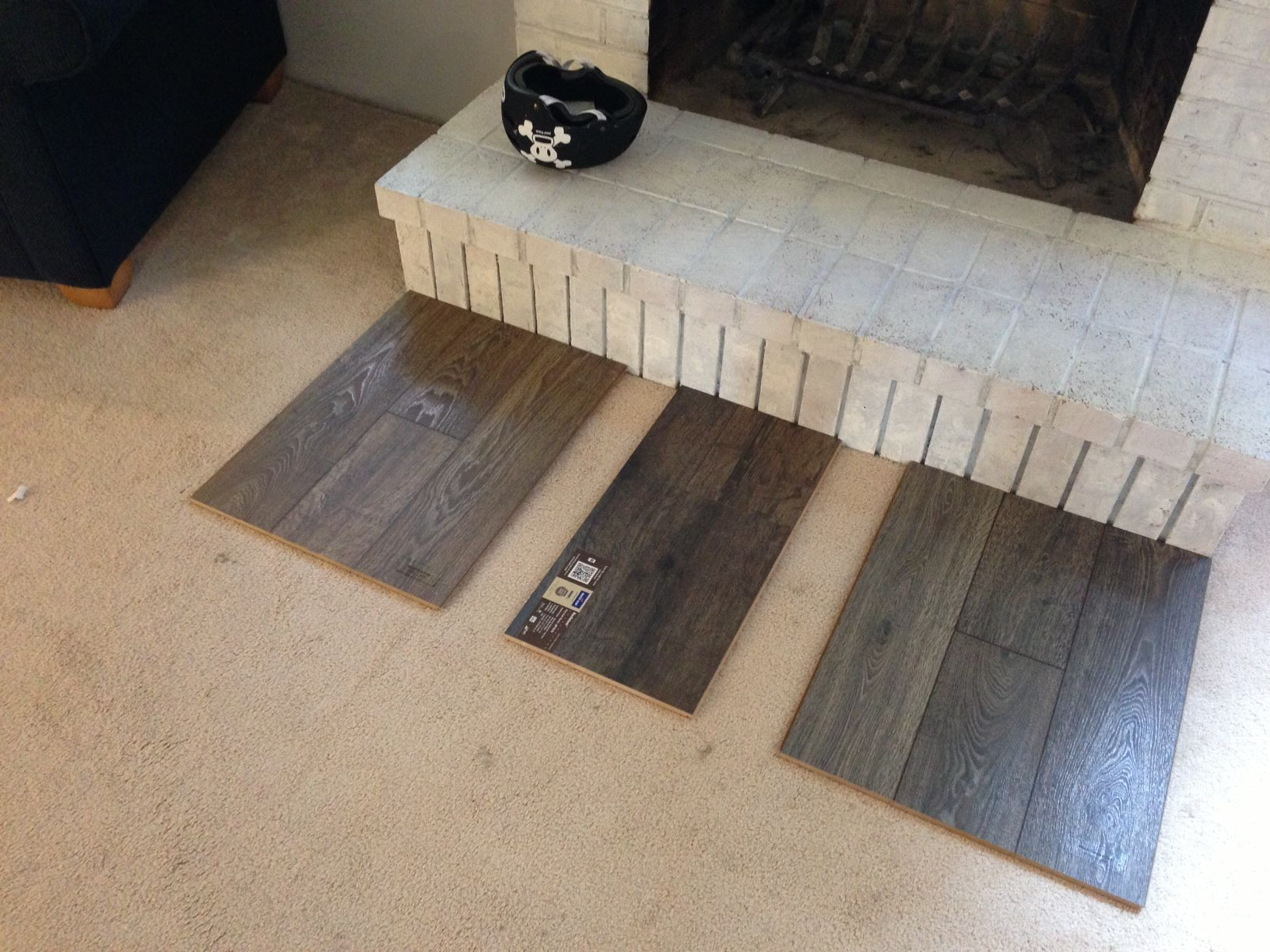 Laminate Floor Comparison Left Mannington Black Forest Oak Stained Middle Quick Step