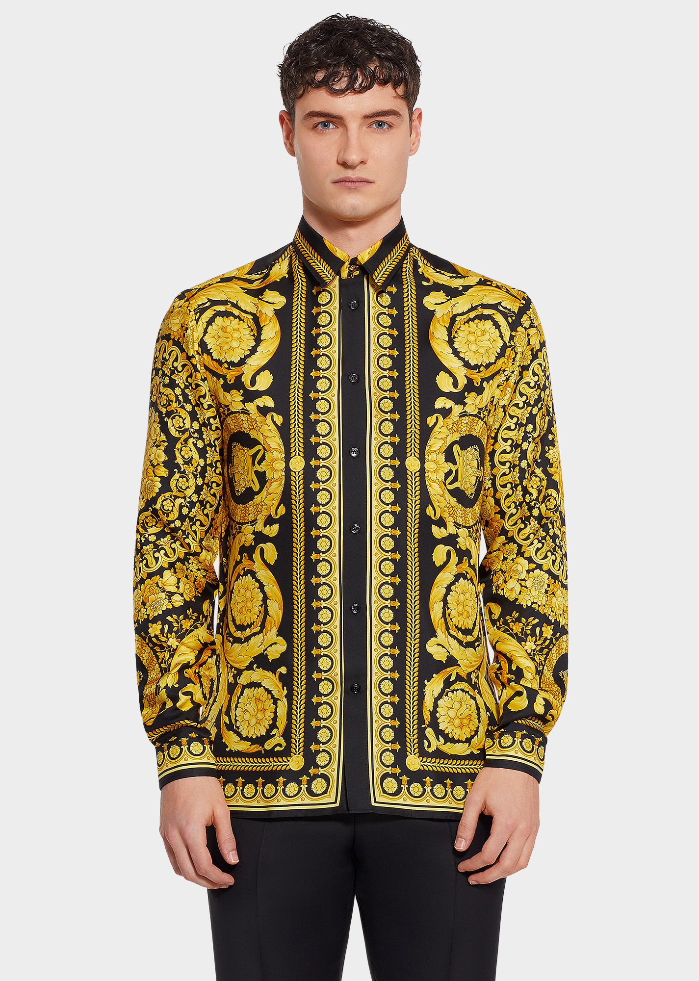 411be78e3f Barocco SS'91 Silk Shirt for Men | UK Online Store in 2019 | Costume ...