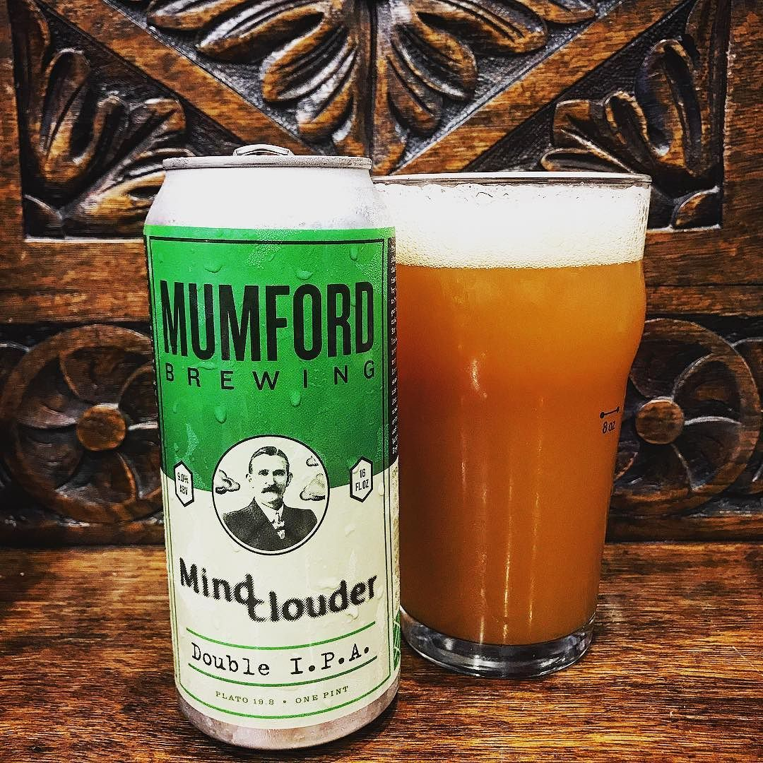 Juicy double IPA from the good people over at Mumford Brewing! #hazefordays  with this