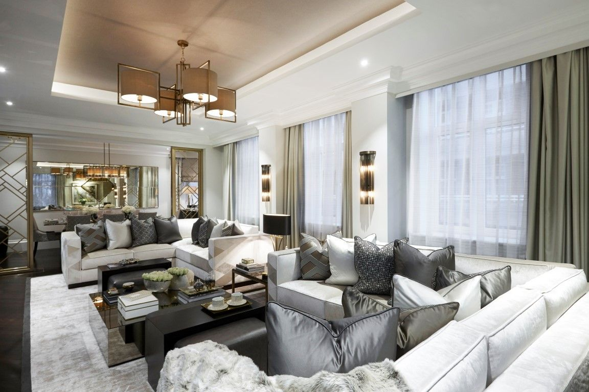 Inside Fountain House, The Mayfair Apartment By Boscolo