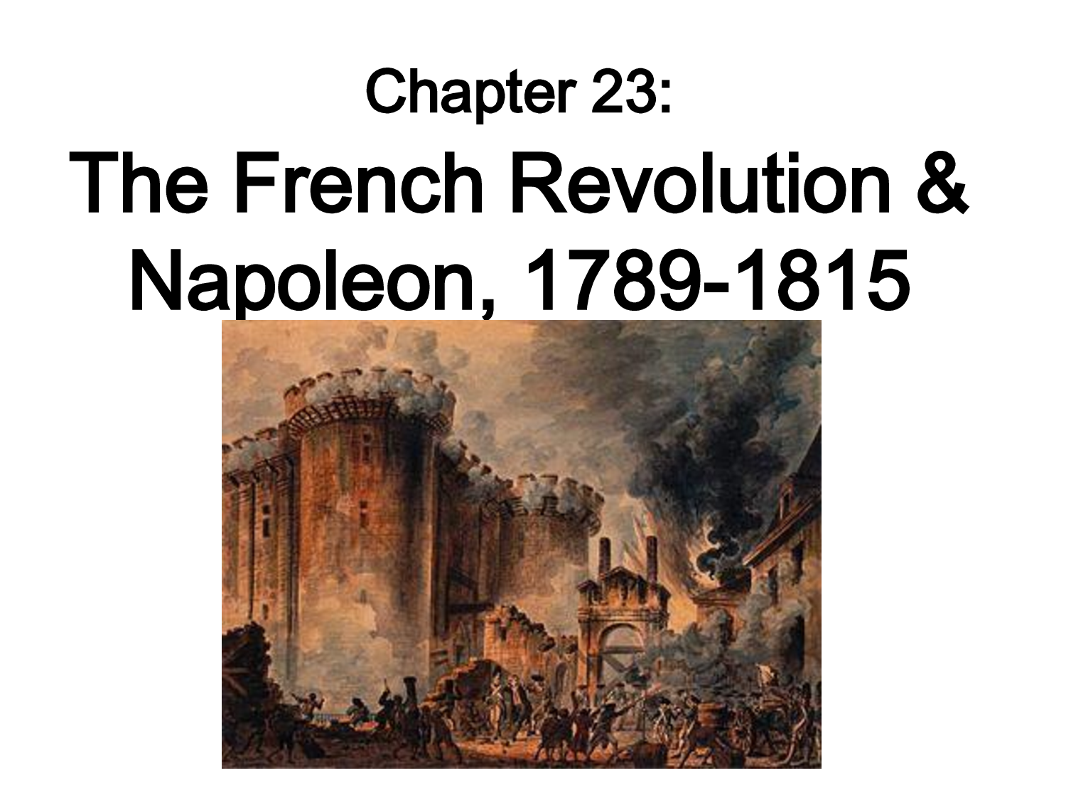 Pin Chapter 23 The French Revolution Napoleon 1789 1815 on ...