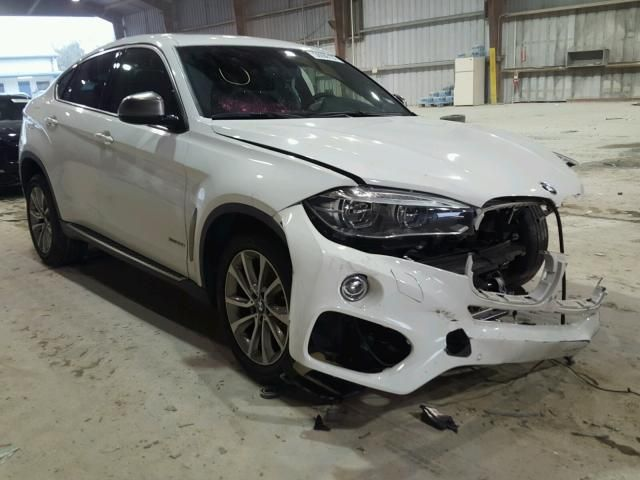 Salvage 2017 Bmw X6 Xdrive3 Suv For Sale