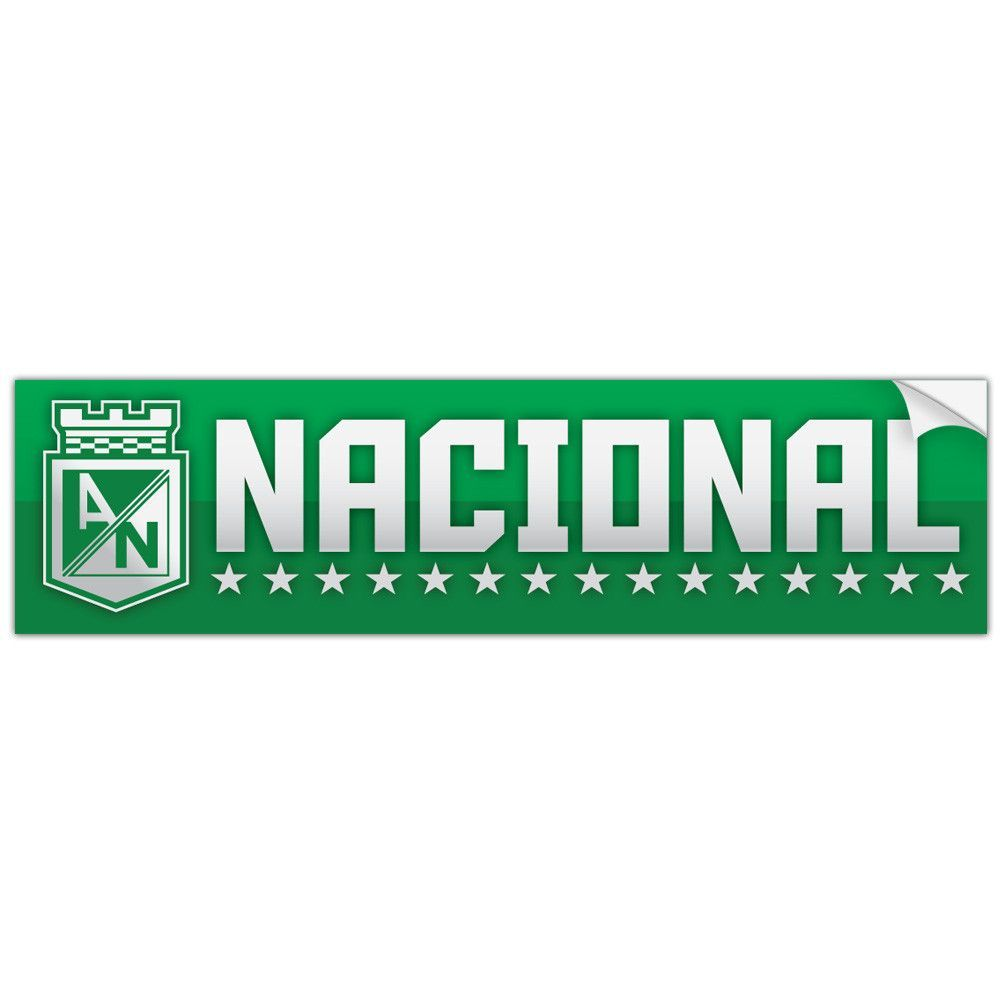 Atletico Nacional Colombia Bumper Sticker Decal Calcomania