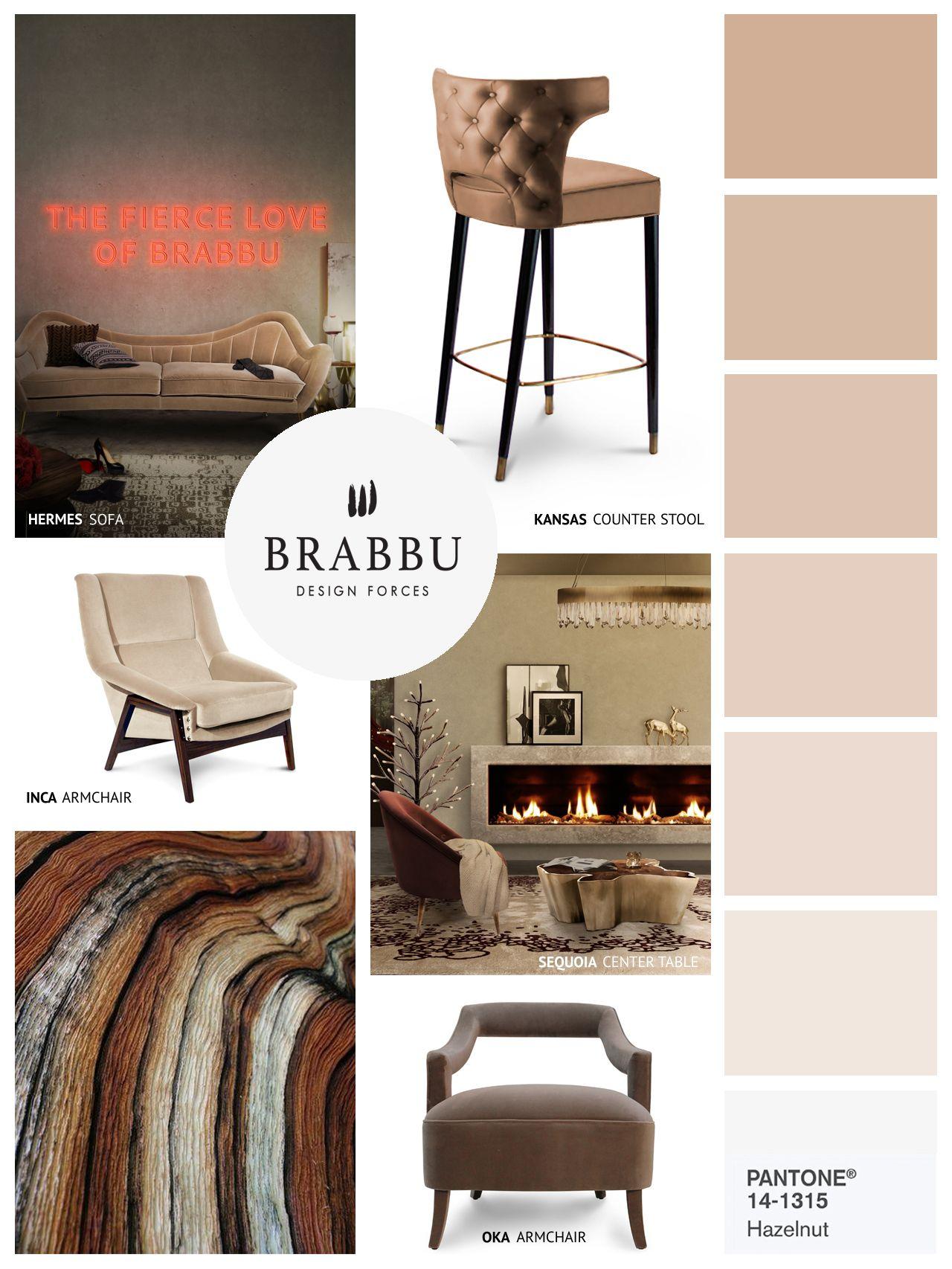 Wohnideen Trends wohnideen moodboards pantone farben brabbu luxus möbel