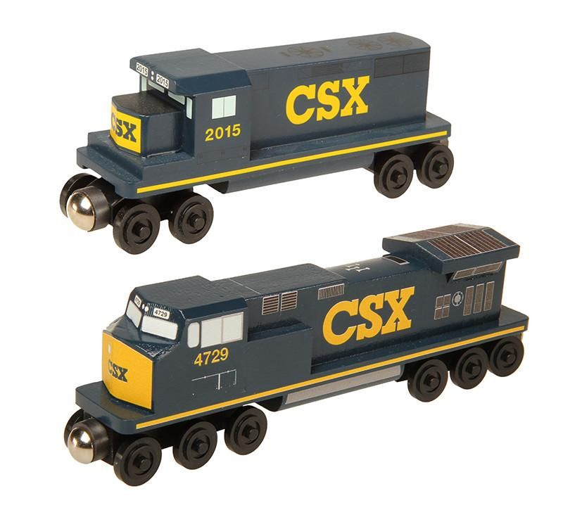 Csx Gp 38 Diesel Engine Products Wooden Toy Train Model Trains