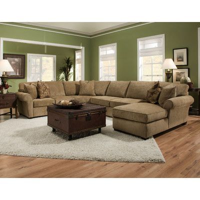 Kivett Applause Desert Sectional Sofa With Chaise On The Right Bauhaus Usa  Sectional Sofas