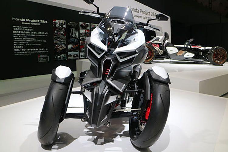 Honda Neowing Tilting Reverse Trike