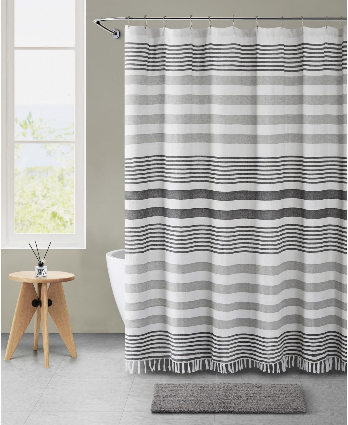Vcny Home Marcy 14 Pc Bath Bundle Reviews Shower Curtains Bed Bath Macy S Fabric Shower Curtains Curtains Shower