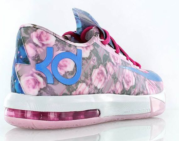 reputable site b1eae d9940 Nike KD 6 Floral – Aunt Pearl
