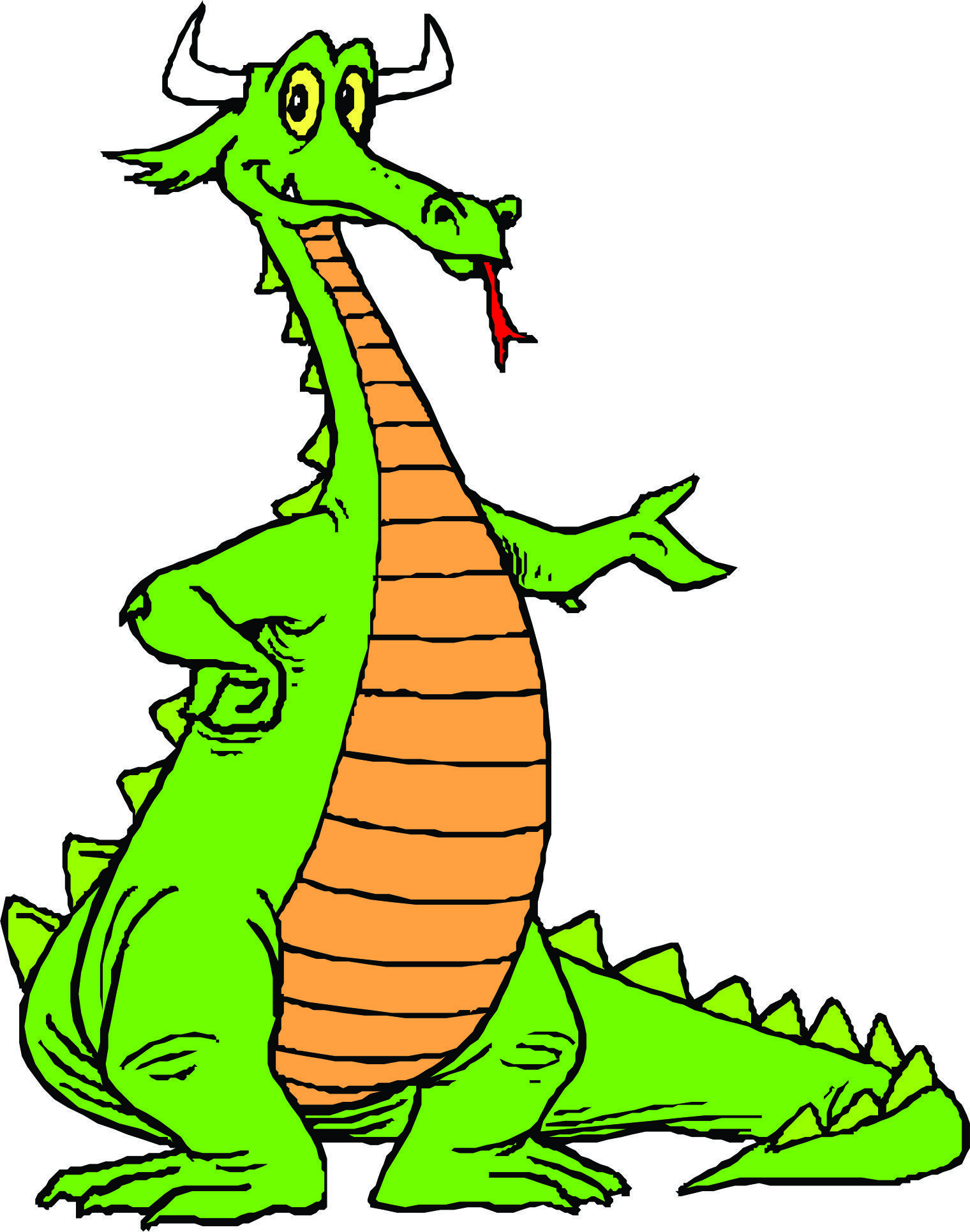 Cartoon dragons page 2 clipart best clipart best - Clipart bricolage ...