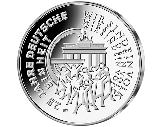 25 Euro Münze Aus Silber Mdm Deutsche Münze Ideen Rund Ums Haus