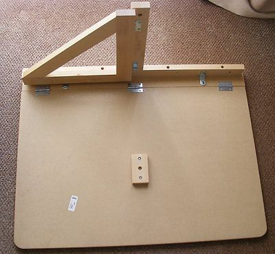 Norbo WALL-MOUNTED DROP-LEAF TABLE inner workings for DIY | Wannabe on