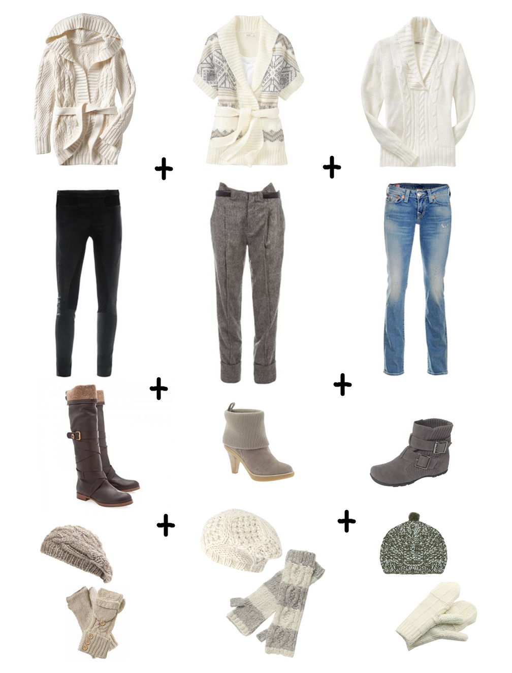 Cute Winter Outfits | Believe Impossible Things Cute Winter Outfit Ideas from Polyvore | my ...