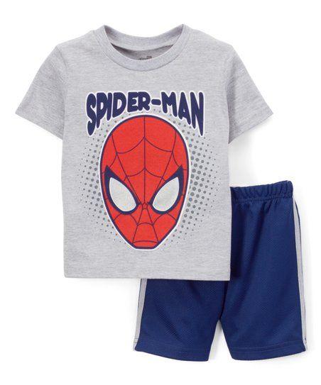 Spiderman Zwembroek.Bentex Spiderman Tee And Short Set Toddler Zulily Kleren Voor