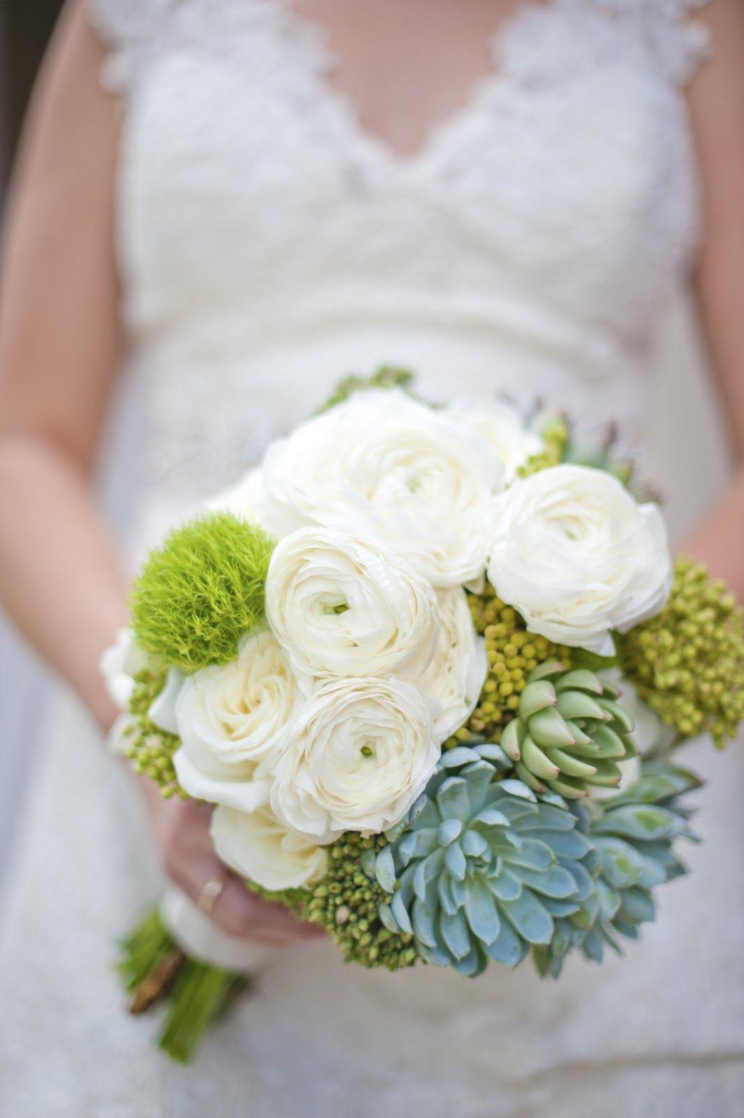 Modern white green and yellow wedding bouquet with succulents modern white green and yellow wedding bouquet with succulents floral design munster rose izmirmasajfo