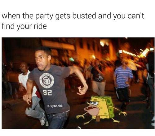caveman spongebob memes ride