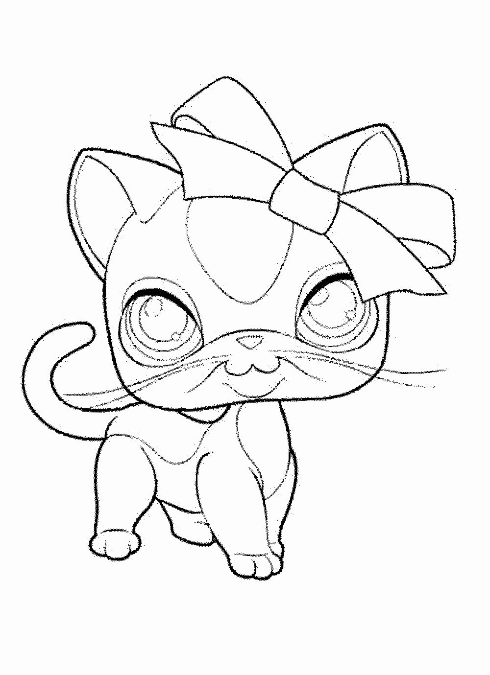Space Cat Coloring Pages Unique Littlest Pet Shop Cat