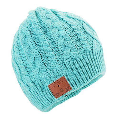be47b3e58b18b Tenergy Wireless Bluetooth Beanie Hat with Detachable Ste ...
