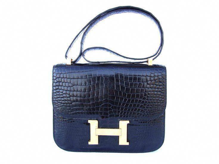 a1e78da108 Sacs à main Hermès Constance crocodile #Hermeshandbags   Hermes ...