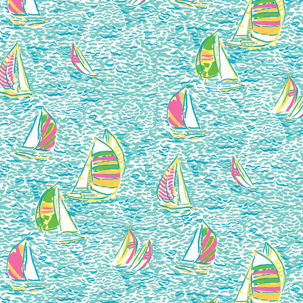 Lilly Pulitzer Sailboats